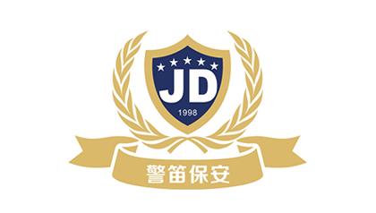 保安公司logo背景墙